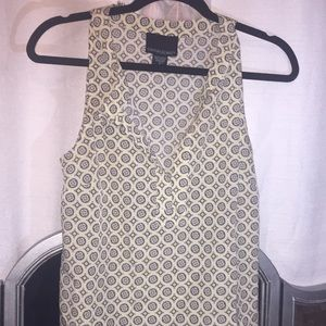 Sleeveless top Cynthia Rowley NWOT